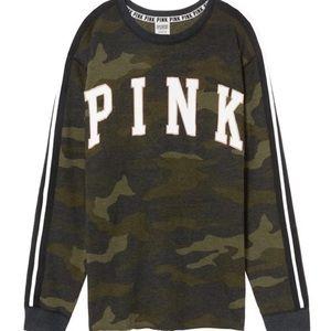 🆕 PINK CAMPUS CREW  Size: Medium